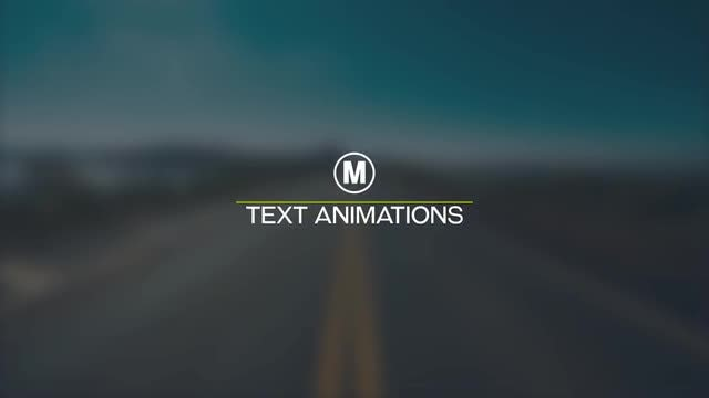 Smooth Text Animations: After Effects Templates