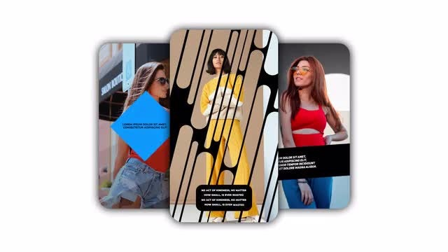 Instagram Stories MOGRT: Motion Graphics Templates