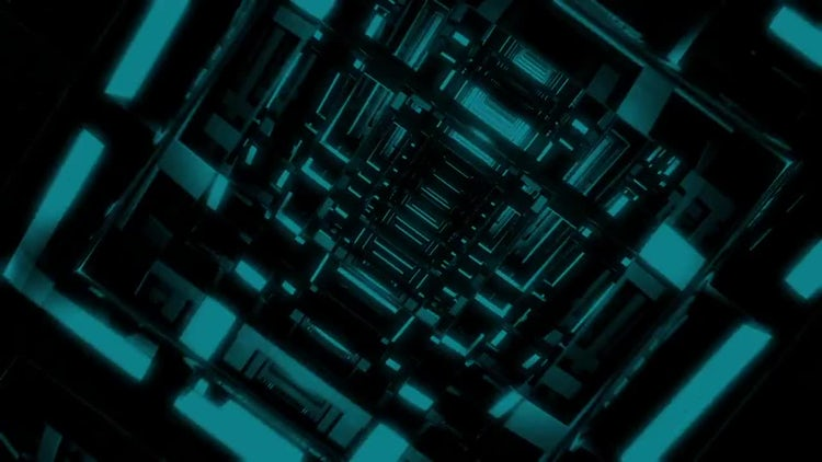 Spiral Tunnel Grid Loop Pack: Motion Graphics