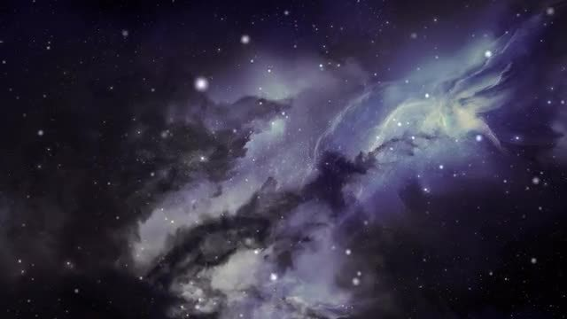 Flight Through Space: Stock Motion Graphics