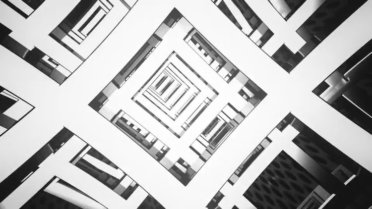 Grids Tunnel VJ Loop Pack: Stock Motion Graphics