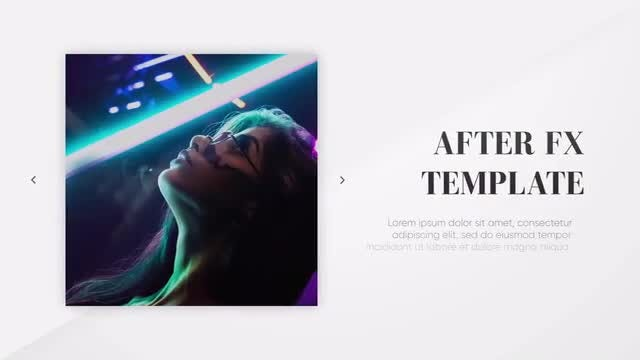 Modern Presentation - Clean Lines: After Effects Templates