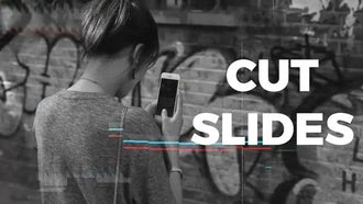 Cut Slides: After Effects Templates