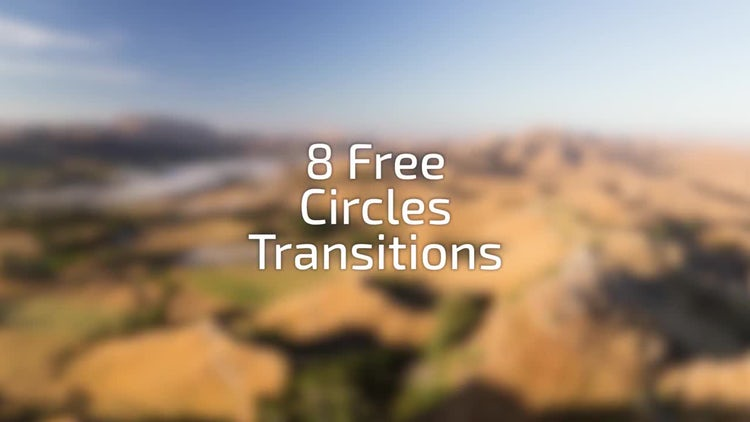 Free Circles Transitions: Stock Motion Graphics