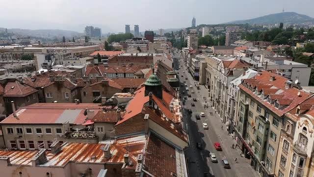Sarajevo Time Lapse: Stock Video