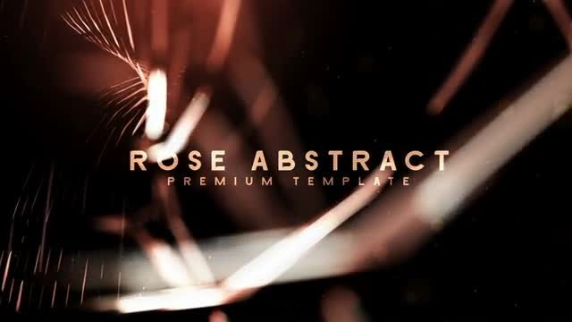 Rose Abstract: After Effects Templates