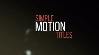 Minimal & Kinetic Titles  : Premiere Pro Templates