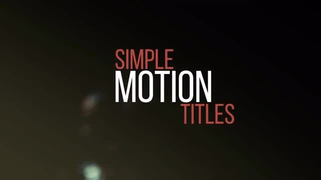 Minimal & Kinetic Titles  : Premiere Pro Templates