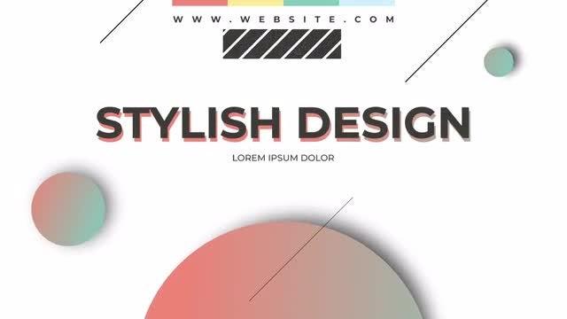 Creative & Modern Typography: Premiere Pro Templates