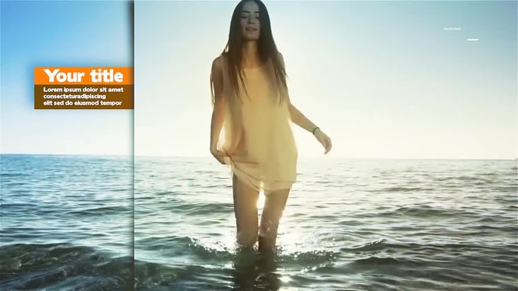 Parallax Summer Slideshow: After Effects Templates