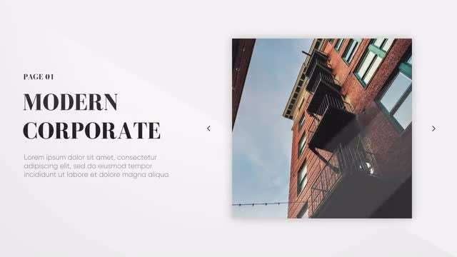 Modern Presentation - Clean Lines: Premiere Pro Templates