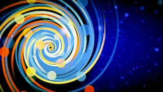 Colored Spiral: Motion Graphics