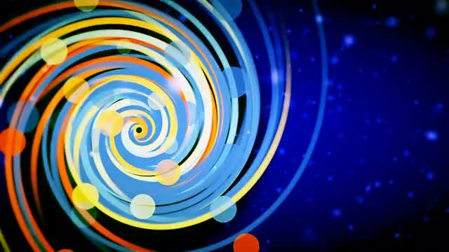 Colored Spiral: Stock Motion Graphics