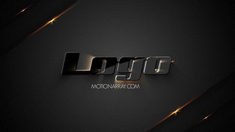 Gold Logo: After Effects Templates