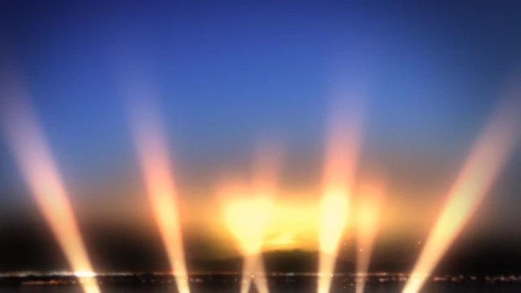 Light Show Loop: Stock Motion Graphics
