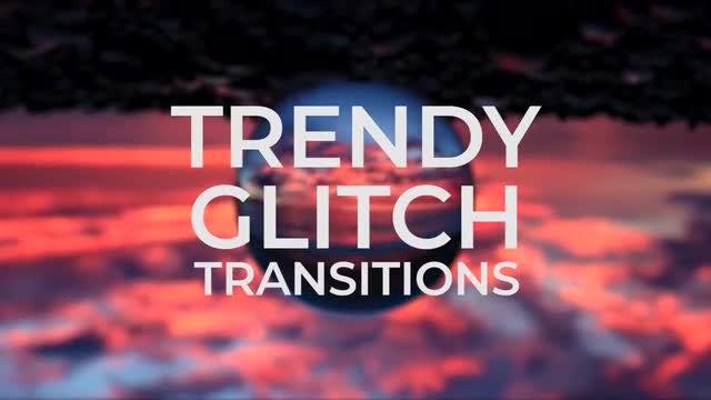 Trendy Glitch Transitions V3: Premiere Pro Presets