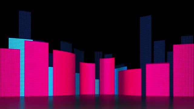 LED Equalizer: Stock Motion Graphics