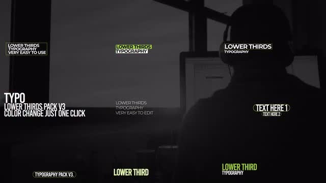Lower Thirds Pack V3: After Effects Templates