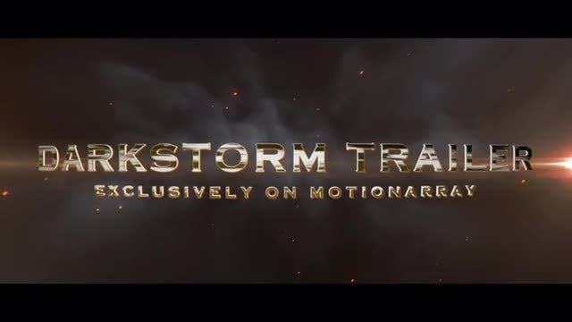 Darkstorm Trailer: After Effects Templates