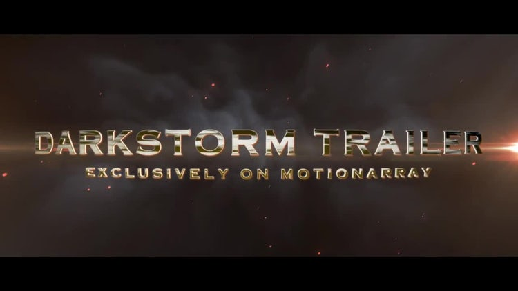Darkstorm Trailer: After Effects Templates