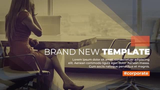 Elegant Corporate Slideshow: Premiere Pro Templates