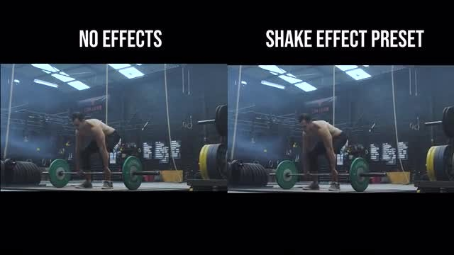 Shake Effect Presets: After Effects Presets