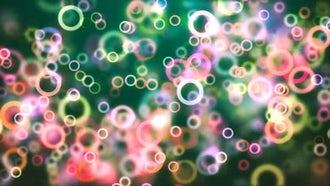 Colorful Bubbles: Motion Graphics