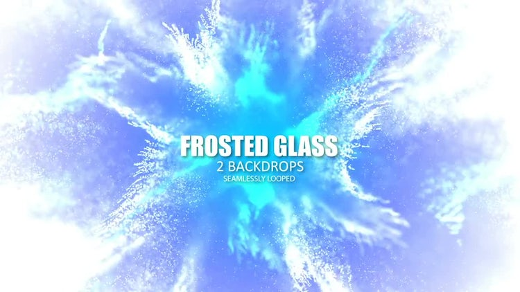 Glittering Frost: Stock Motion Graphics