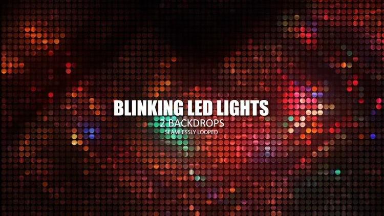 Blinking LED Lights: Stock Motion Graphics