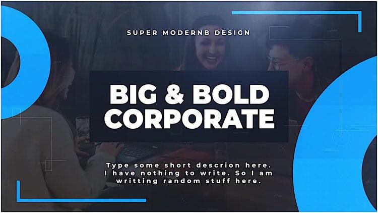 Big & Bold Corporate: Final Cut Pro Templates