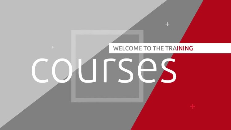 Corporate courses promo: After Effects Templates
