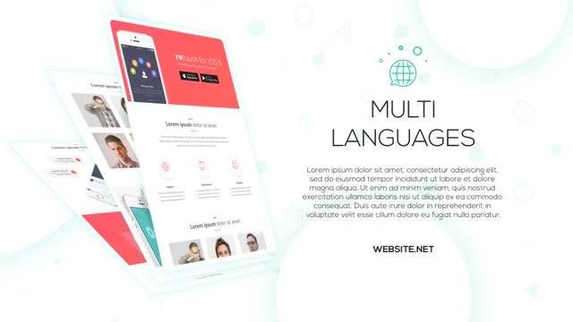 Website Presentation 3: After Effects Templates