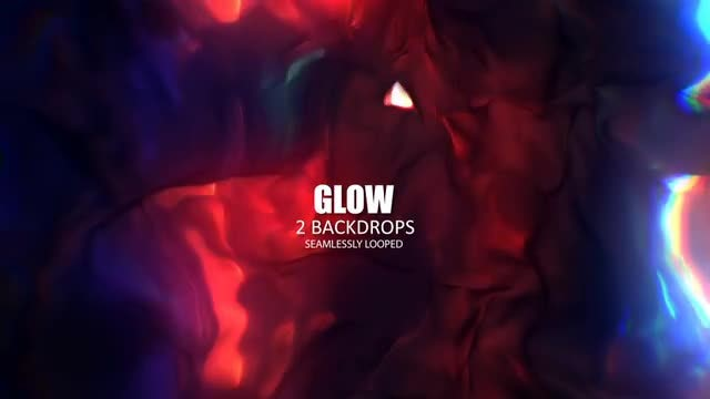 Glow Liquid: Stock Motion Graphics
