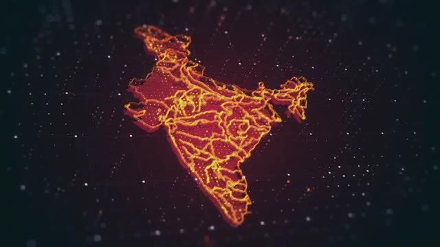India In Danger: Stock Motion Graphics