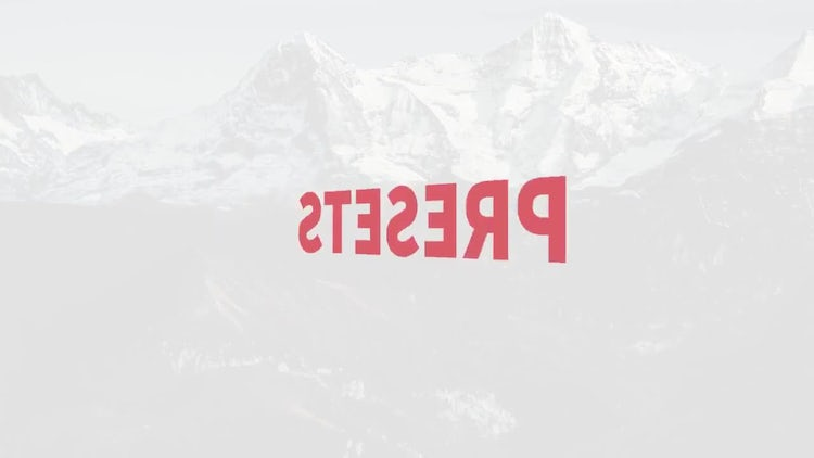 Text Animation Presets: After Effects Presets