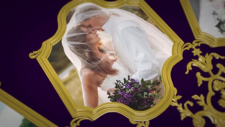 3D Wedding Album: After Effects Templates