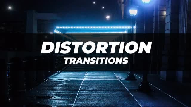 Distortion Transitions 3: After Effects Presets