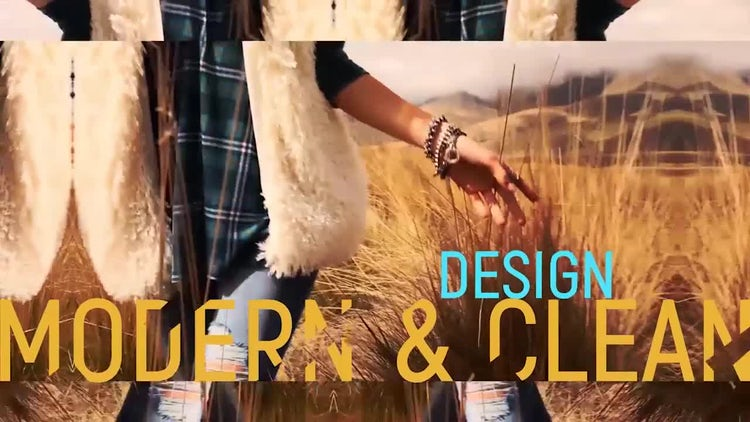 Dynamic Colorful Slideshow: After Effects Templates