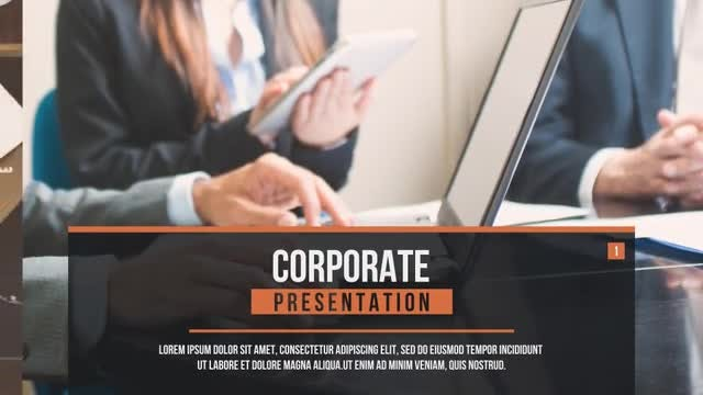 Corporate Slides IV: After Effects Templates