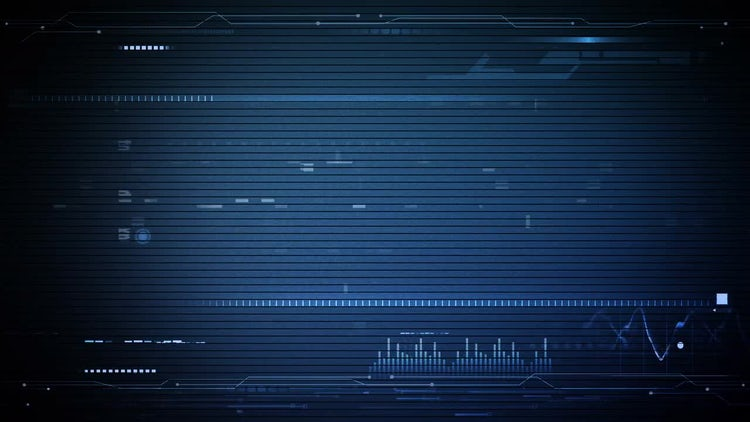 Hi-Tech Background: Stock Motion Graphics