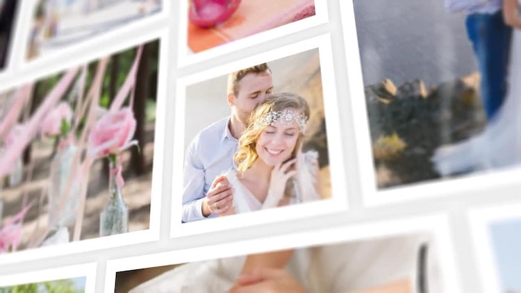 Wedding Photo Gallery: After Effects Templates