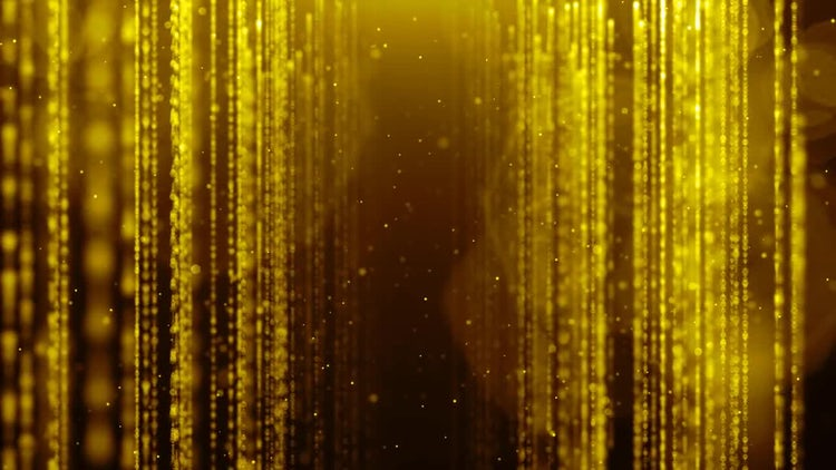 Golden Rain: Stock Motion Graphics