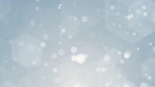 White Hexagons Loop: Stock Motion Graphics