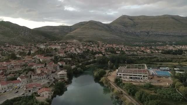 Trebinje City: Stock Video