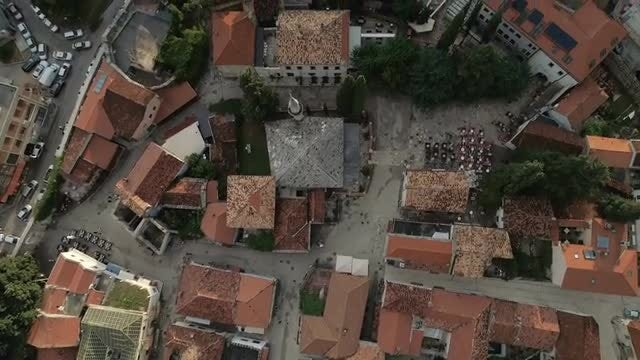 Trebinje Aerial: Stock Video