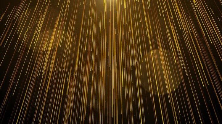 Golden Drapes: Stock Motion Graphics