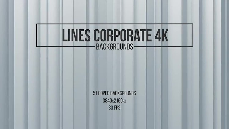Lines Corporate Backgrounds: Stock Motion Graphics