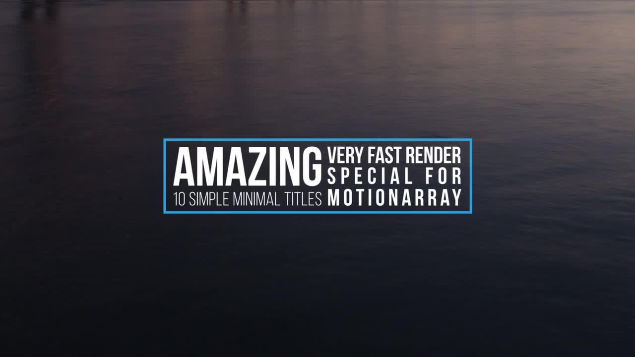 Dynamic Premiere Titles - Premiere Pro Templates | Motion Array