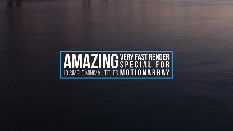 Dynamic Premiere Titles: Premiere Pro Templates
