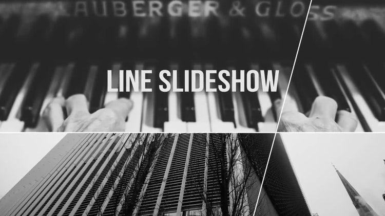 Line Slideshow: Premiere Pro Templates